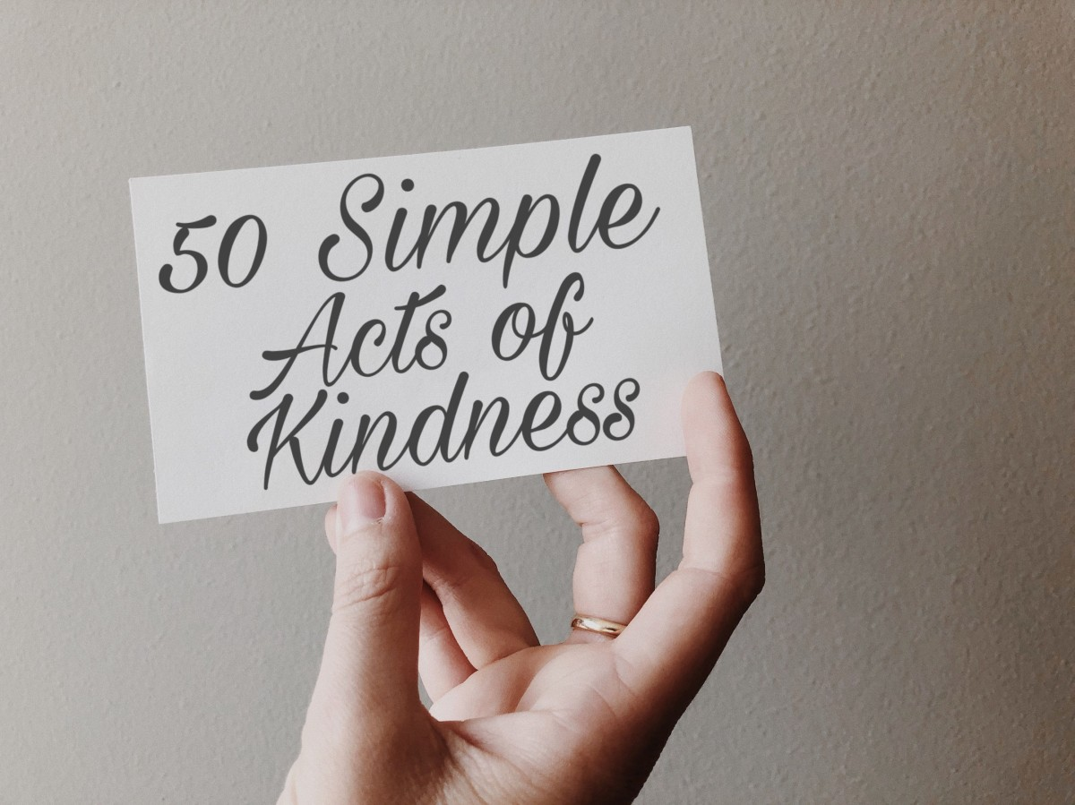 50 Simple Acts of Kindness